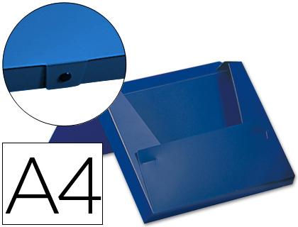 Pasta Porta Documentos Beautone c/ Lombada de 40 mm Azul
