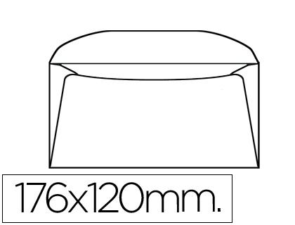 Envelope 120X176mm s/ Janela Bolsa de 10