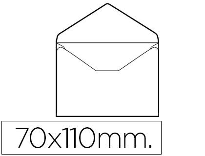 Envelope Cartão de Visita 70 X 110 mm (100 Unidades)