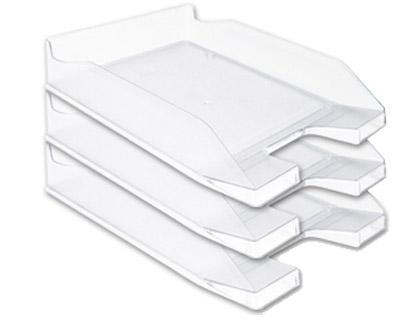 Tabuleiro de Secretaria Q-Connect Plastico Transparente