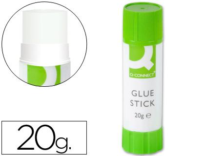 Cola em Baton Q-Connect Embalagem de 20 Gr
