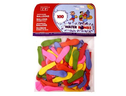 Balões de Agua (100 Unidades)