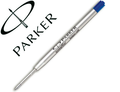 Recarga Esferografica Parker Azul Medio