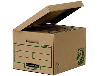 Gaveta Fellowes Cartão Reciclado p/ Armazenamento de Arquivos Capacidade 4 Caixas de Arquivo 80mm