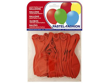 Balões Pastel Vermelho (20 Unidades)