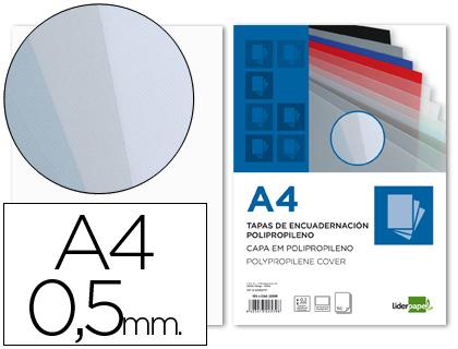 Capa de Encadernacao Polipropileno Din A4 0.5mm Transparente (100 Unidades)