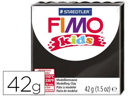 Pasta Staedtler Fimo Kids 42 Gr Cor Preto