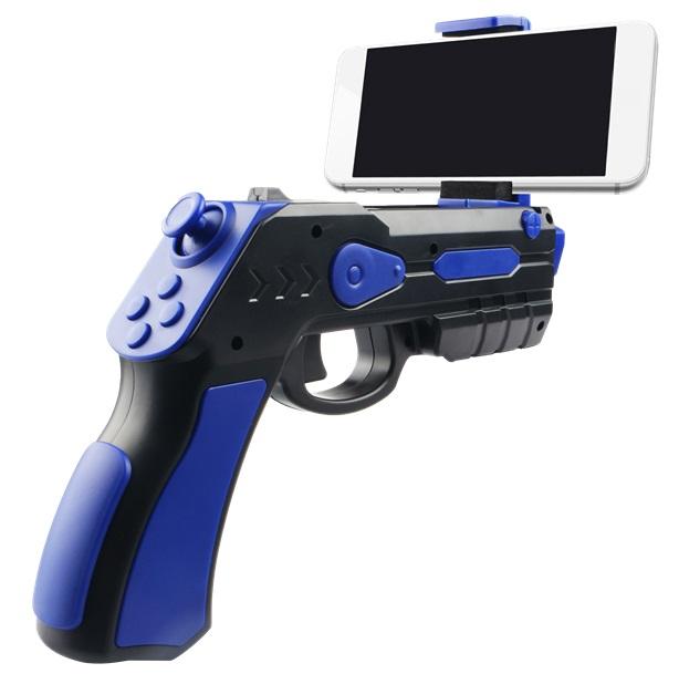 Pistola Laser de Realidade Aumentada p/ Smartphones Android e iOS - OMEGA