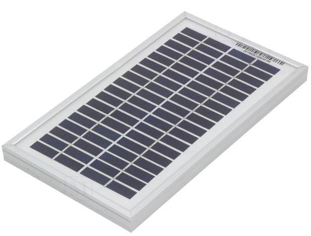 Painel Fotovoltaico Silicio Policristalino 3W / 18,2V - ProFTC