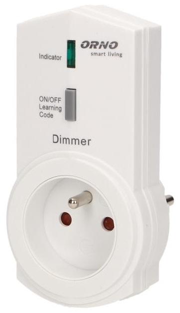Tomada Telecomandada c/ Função Dimmer (Smart Living) - ORNO