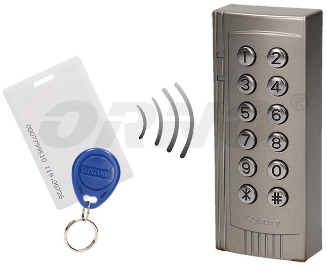 Leitor de Controlo de Acessos com PIN + RFID 125kHz - ORNO