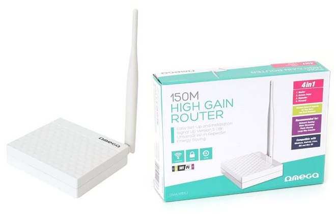 Router Wireless N 150Mbps - OMEGA