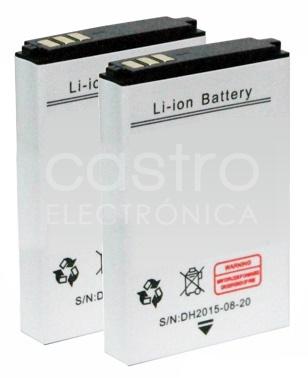 Pack 2x Baterias p/ Sistema Coluna/Microfone PA5U - VELLEMAN