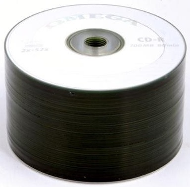 CD-R 52x 700MB (Pack 50) - OMEGA