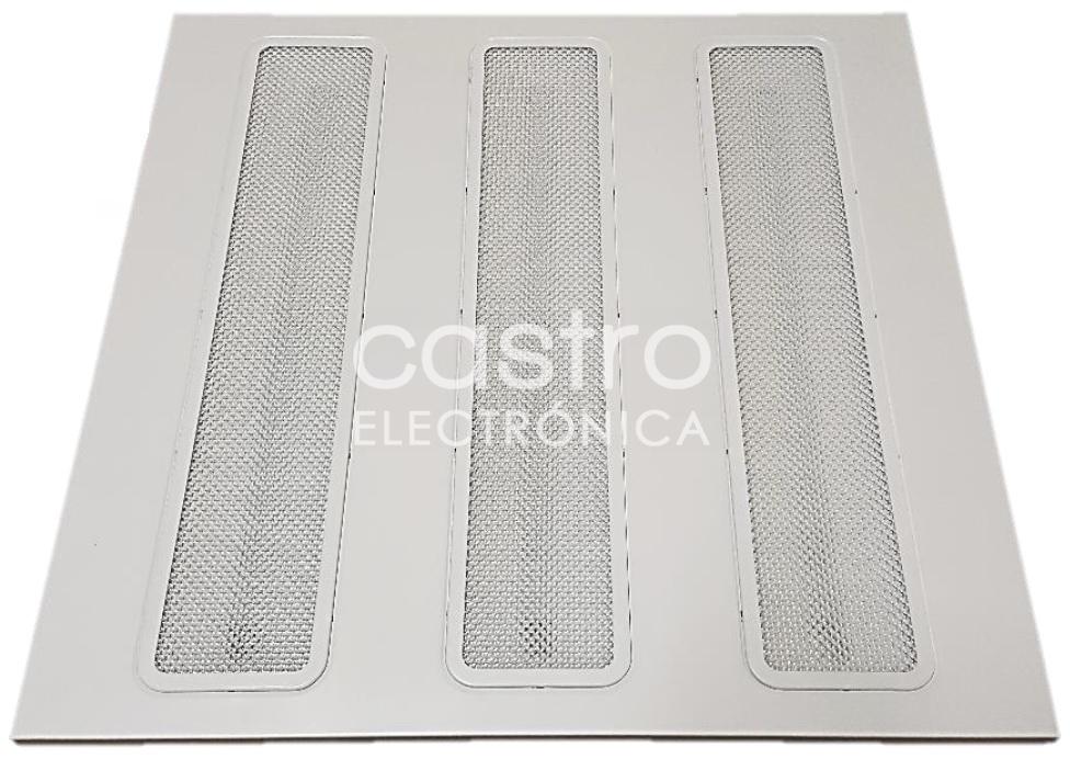 Painel de LED 60x60cm 220VAC 48W 4000K 3250Lm