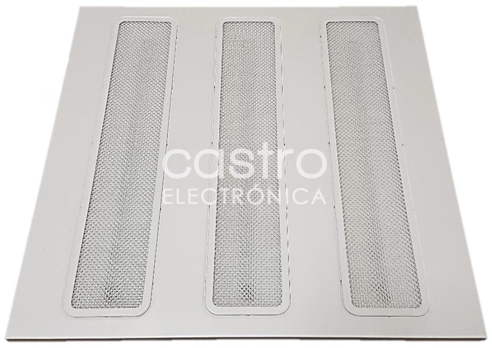 Painel de LED 60x60cm 220VAC 48W 6000K 3600Lm
