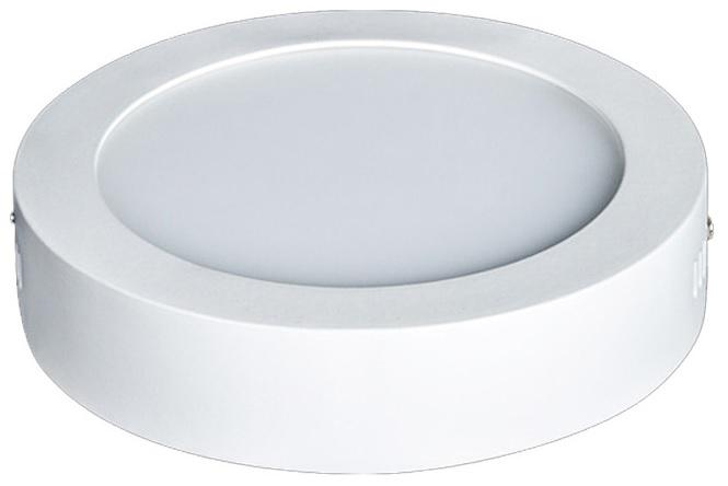 Painel de LED Superficie Redondo (Ø 12cm) 6W 4000K 335Lm