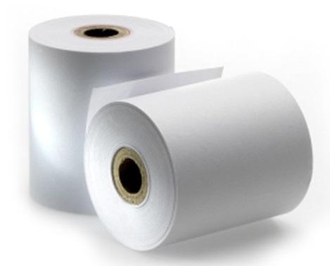 Rolo de Papel Autocopiativo 74x65mm Branco - ProFTC