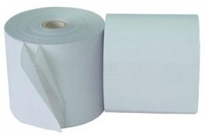 Rolo de Papel Autocopiativo 75x65mm Branco - ProFTC