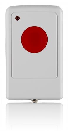 Botão Fixo de Pânico s/ Fios p/ Alarmes SA & Q Series - BLAUPUNKT PB-S1