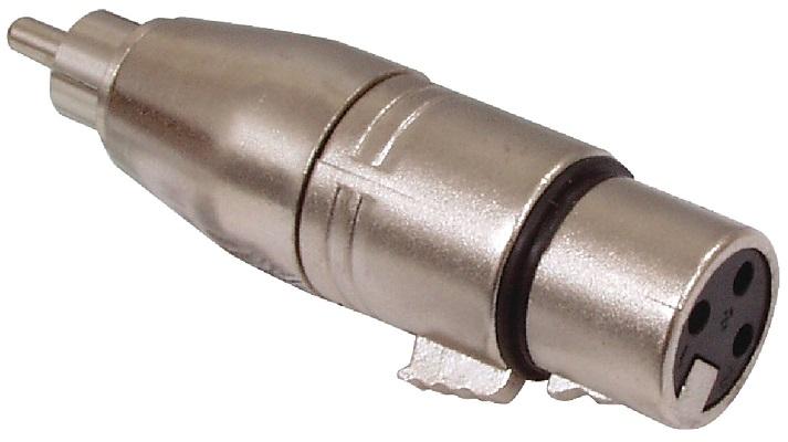 Ficha Adaptadora Canon Femea - RCA Macho
