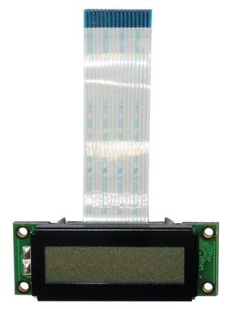 LCD 16 x 2 STN (Retroiluminção Branca) p/ Kit MP3 K8095