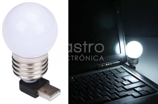 Lampada LED com Ligação USB - VELLEMAN