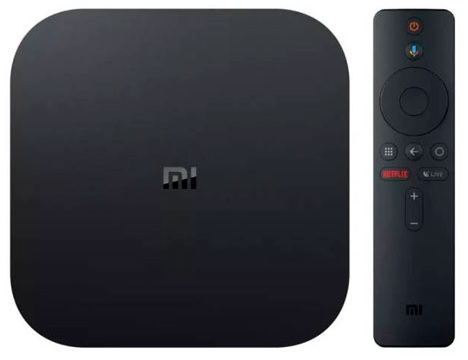 MiniPC TV MI BOX S 4K HDR ANDROID (QUAD-CORE) 2/8GB - XIAOMI