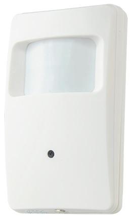 Sensor Movimento Falso c/ Camara Oculta (4-EM-1) 18 LEDs (HDTVI/HDCVI/AHD/Analógico) 1000L Sony