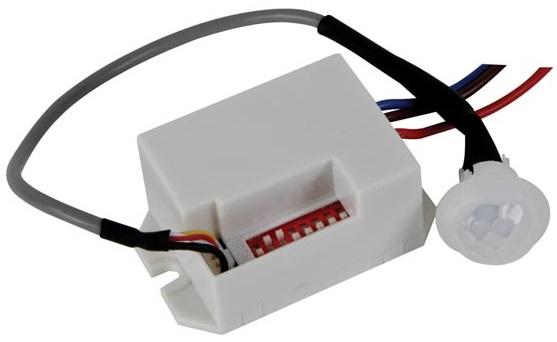 Detector Movimento PIR Mini 12V 360º p/ Encastrar - VELLEMAN