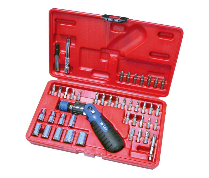 Kit Chave c/ 43 Bits Profissional (Blister) - Proskit