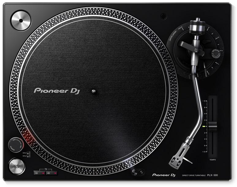 Gira Discos Profissional (Preto) - Pioneer
