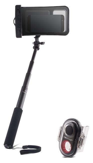 Haste Telescópica Bluetooth com Comando p/ Selfies (SELFIE STICK) - À PROVA DE ÁGUA