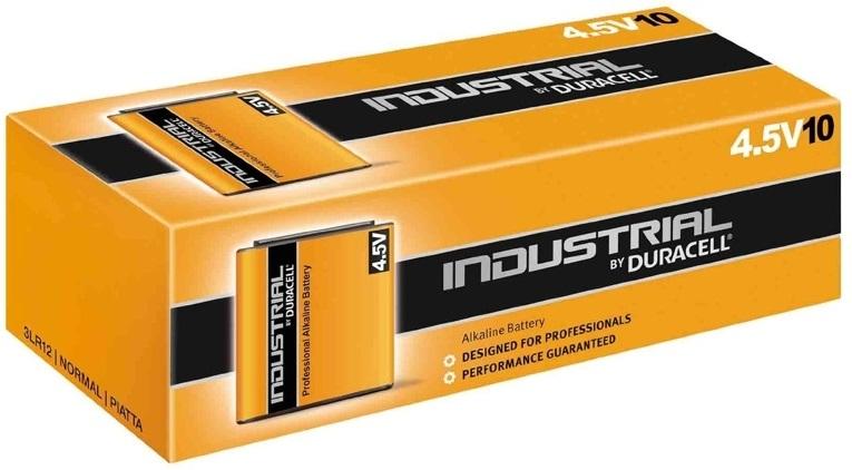 Emb. 10x Pilhas Ind. Alcalinas 4,5V 3LR12 - Duracell INDUSTRIAL