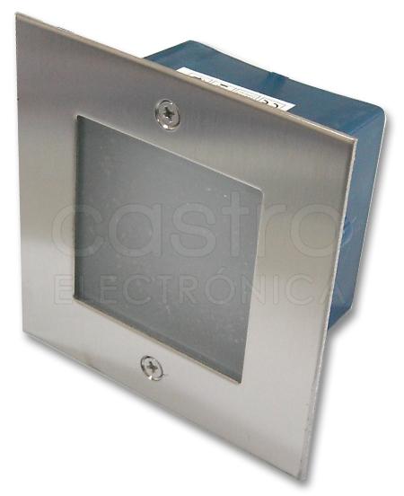 Projector Encastrar Muro/Chão Aluminio LED 5W Branco F. 6000K IP65 500Lm - ProFTC