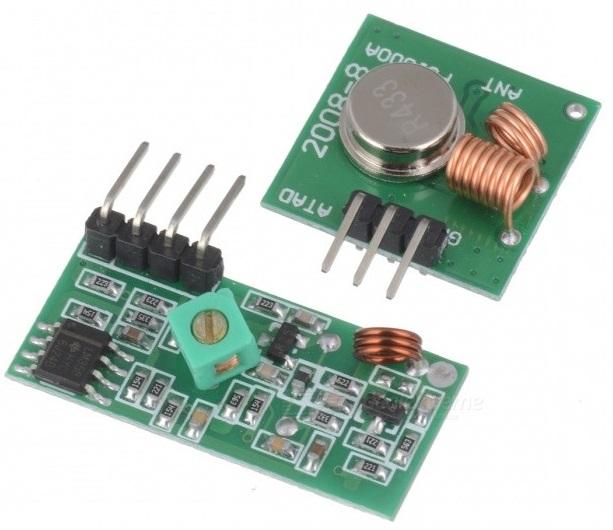 Módulo Transmissor/Receptor 433Mhz - FUNDUINO