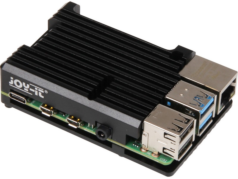 Caixa Alumínio Resistente BLOCK p/ Raspberry Pi 4