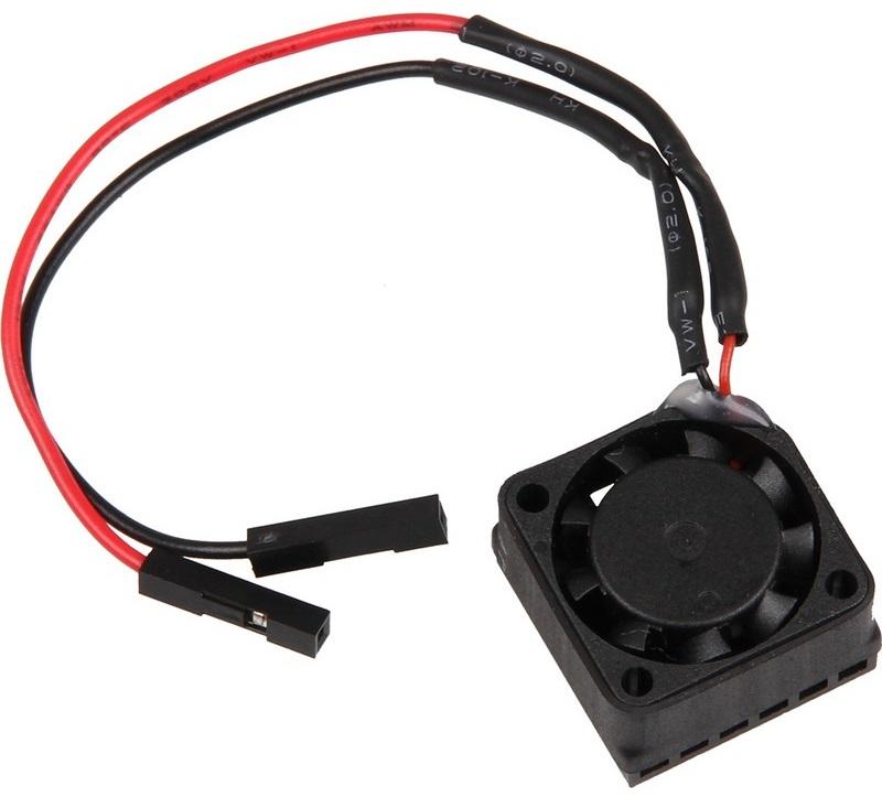 Dissipador c/ Ventoinha 20x20mm 5V p/ Raspberry Pi/Banana Pi/PcDuino/Arduino
