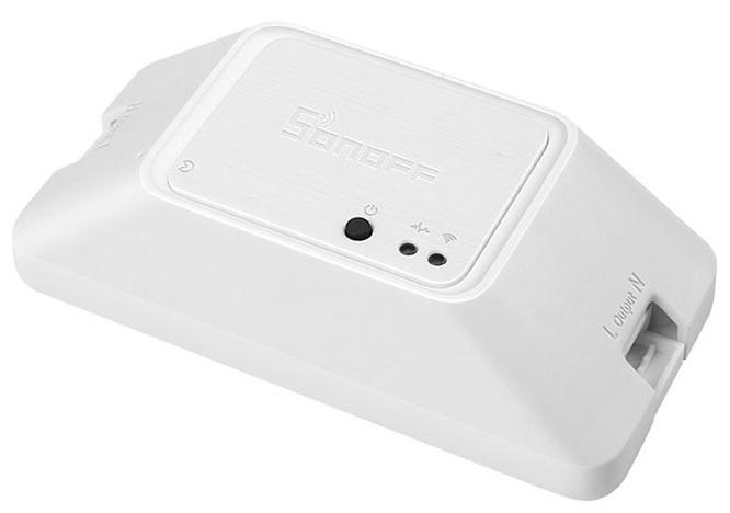 Comutador s/ Fios RF e WiFi p/ Domótica Compativel Amazon Echo, Google Home (DIY / API REST) - Sonof