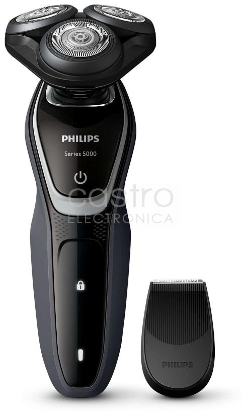 Máquina Barbear Eléctrica Recarregável c/ Aparador - PHILIPS