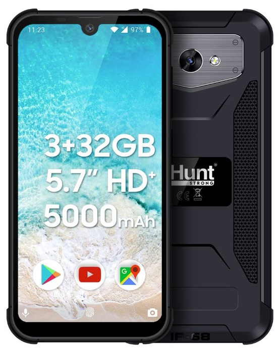 Smartphone 5.71 3/32GB Dual SIM Android 9 (Preto) - iHunt S60 Discovery PRO 2020