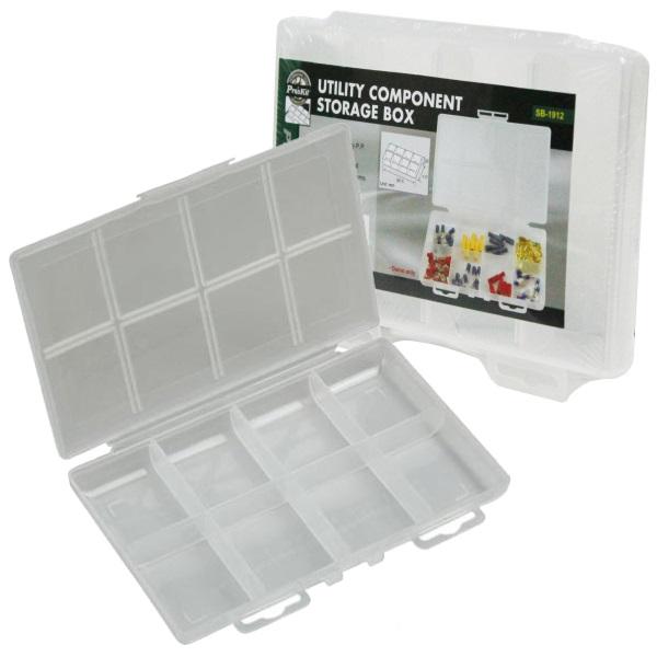 Caixa Plástica p/ Armazenamento Comp. Electrónicos - Proskit