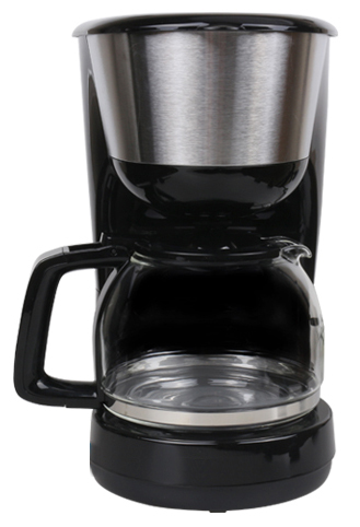 Cafeteira 1000W (1,25L) Preto - ProFTC