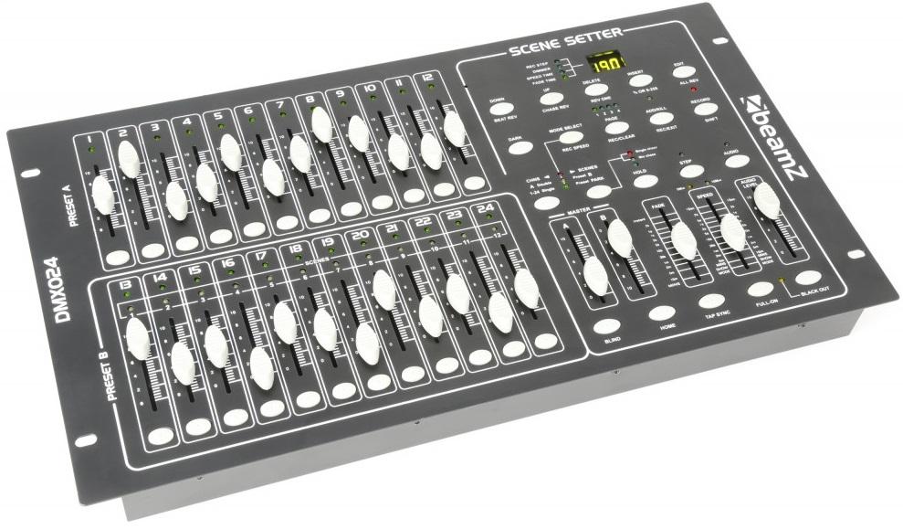 Controlador DMX 24 Canais - beamZ
