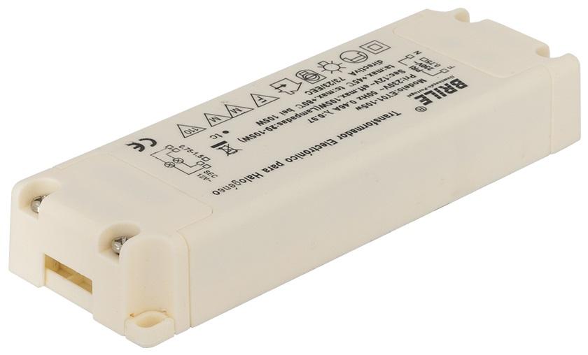 Transformador Electrónico 220VAC / 12VAC 105W