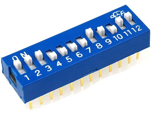 Dip Switch 12 Selectores