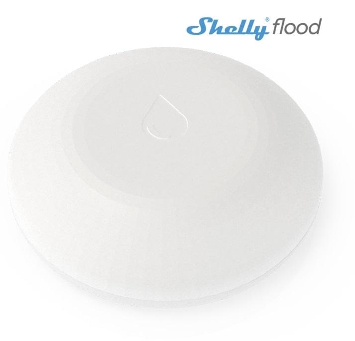 Detector/Alarme de Água Autónomo Wi-Fi - Shelly Flood