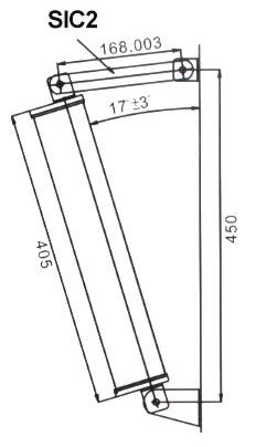 Suporte Inclinação p/ Colunas Instalação (Ref: COL24W e FCS-200C) - TECHNYSOUND