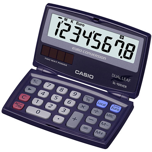 Calculadora de Bolso (8 Digitos) -  CASIO