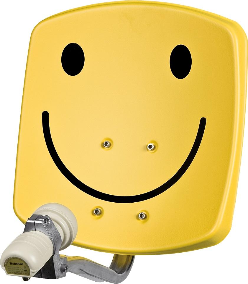 Parabólica Quadrada 33cm (Smiley) - TECHNISAT DigiDish 33